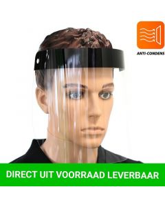 Face Shield Zwart