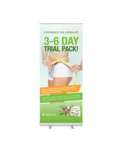 Roll-Up Herbalife 3-6 day Trial Pack